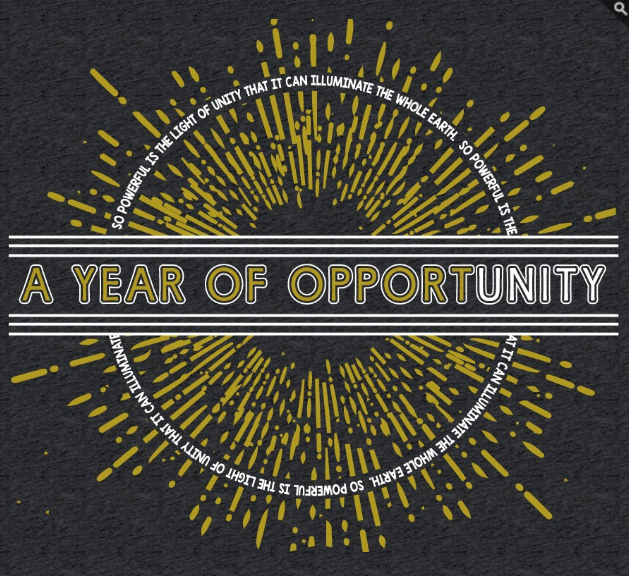 A Year of Opportunity